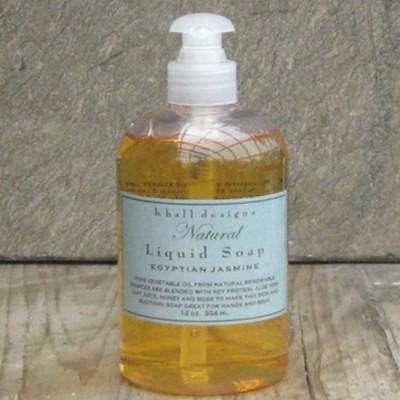 k. hall Studio Inc. designs EGYPTIAN JASMINE Natural Liquid Soap