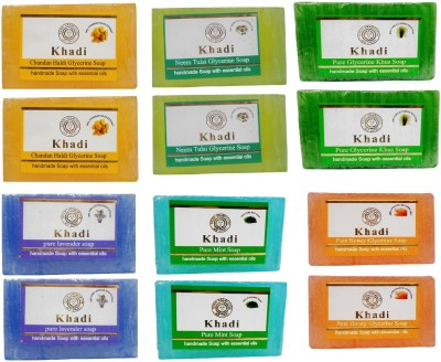 Khadi Herbal NaturalHandmade soaps combo