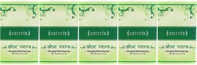Sattvik Aloe Vera Soap Pack Of 5