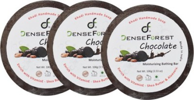 Dense Forest Khadi Chocolate Soap (Pack of 3)