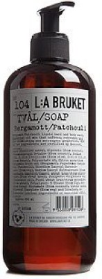 L:A Bruket No. 104 Bergamot/Patchouli Liquid Soap by