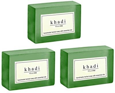 Khadi Herbal NaturalKhus soap - pack of 3
