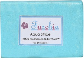 Fuschia Aqua Stripe