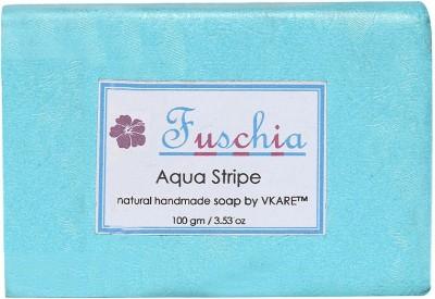 Fuschia Aqua Stripe