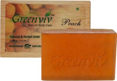 Greenviv Natural Peach Soap