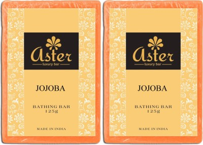 Aster Luxury Jojoba Bathing Bar - Pack of 2