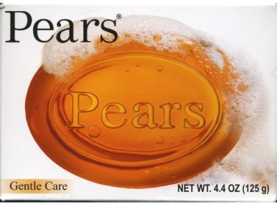 Pears Transparent Soap Gentle Care ( Pack of 2 )(125 g)
