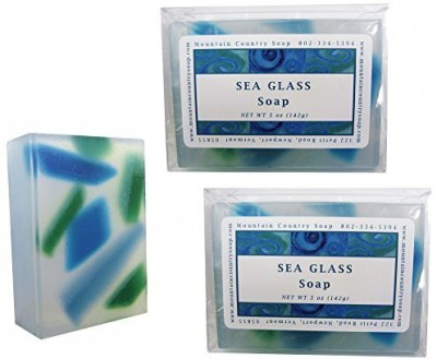 Mountain Country Soap Sea Glass Soap - 2 Pack