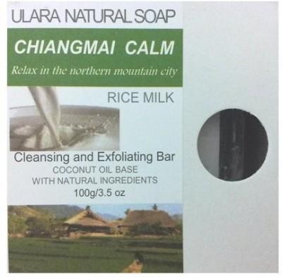 Ulara Natural Soap Natural Rice Milk Soap - Ulara Chiangmai Calm Made with Pure Coconut Oil