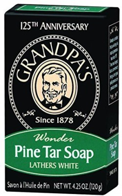 Grandpa's Pine Tar Soap (Pack of 2)
