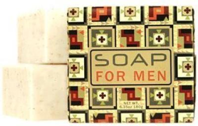 Jolie Maison Shop French Milled Soap Squares (Set of 6) (Soap for Men)