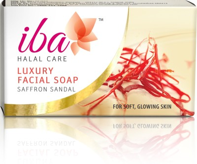 Iba Halal Care Luxury Facial Soap - Saffron Sandal