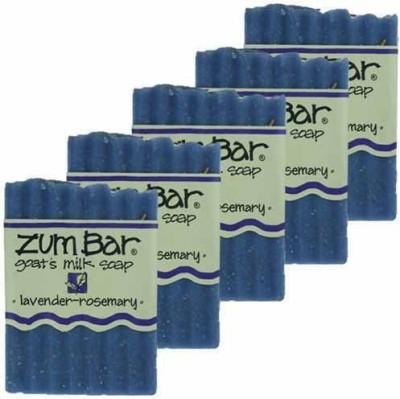 Indigo Wild Lavender Rosemary Zum Bars Multipack (5 Count)