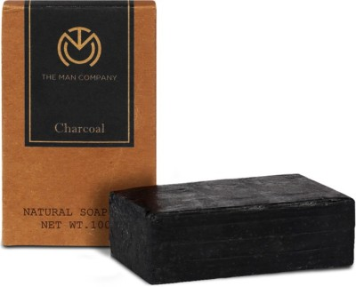 The Man Company Charcoal Soap Bar
