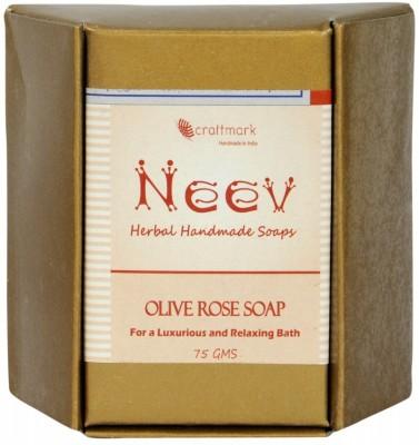 NeeV Herbals Olive Rose Soap(Pure)