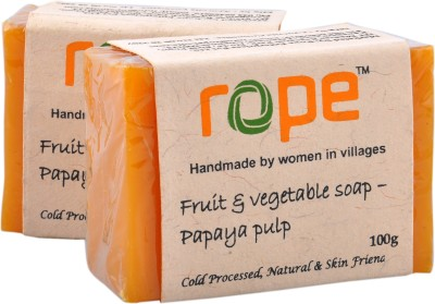 Rope International Fruit and Vegetable soap-Papaya Fruit Soap
