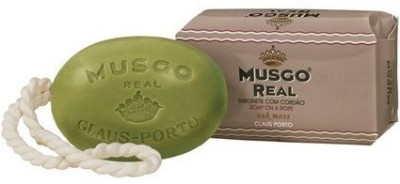 Claus Porto Musgo Real Soap On A Rope for Men - Oak Moss