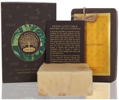 VANA VIDHI Fresh Goat's Milk Tender Soap