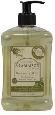 A La Maison French Liquid Soap Rosemary Mint