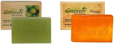 Greenviv Fruity Bath Soap Combo-1