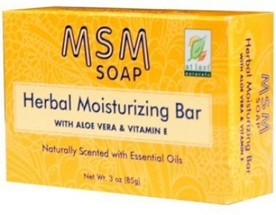 At Last Naturals MSM HERBAL BAR pack of 7