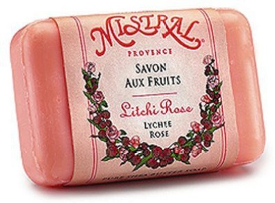 Mistral Lychee Rose French Soap