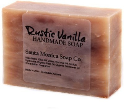 Santa Monica Soap Co. Handmade Soap - Rustic Vanilla