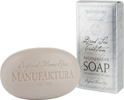 Manufaktura Dead Sea Mud and Almond Oil Herbal Spa Soap