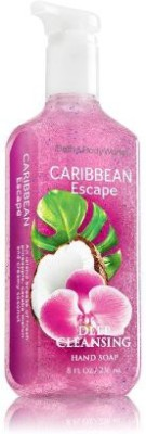 Bath & Body Works Caribbean Escape Deep Cleansing Hand Soap Anti-Bacterial