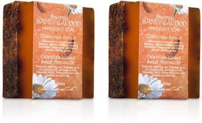 Nyassa Sacred Sandalwood Handmade Soap Pack Of 2