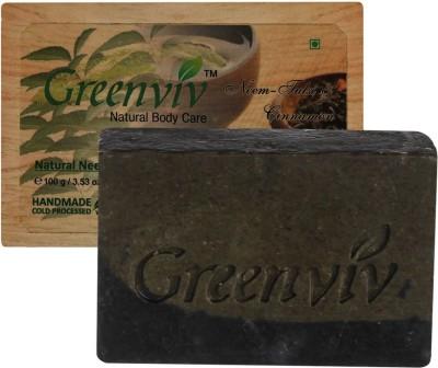 Greenviv Natural Neem,Tulsi & Cinnamon Soap
