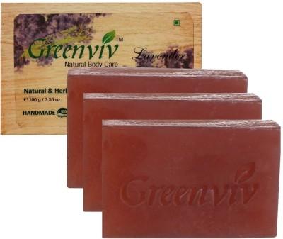 Greenviv Natural Lavender Soap