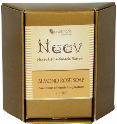 NeeV Herbals Almond Rose Soap(Pure)