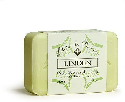 L,Epi de Provence Shea Butter Enriched French Bath Soap - Linden