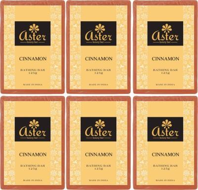 Aster Luxury Cinnamon Bathing Bar - Pack of 6