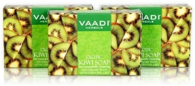 Vaadi Herbals Value Pack of 3 Exotic Kiwi Soap