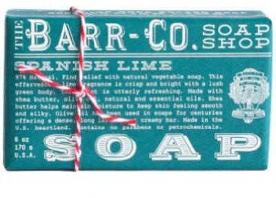 The Barr-Co Spanish Lime Barr-co. Soap Shop Spanish Lime Bar Soap
