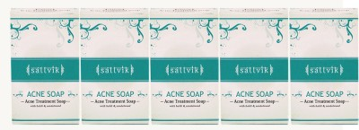 Sattvik Acne Soap Pack Of 5