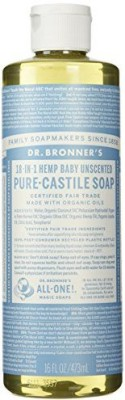 Dr. Bronner,s Fair Trade & Organic Castile Liquid Soap