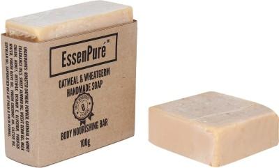 EssenPure Oatmeal & WheatGerm Handmade Soap (Pack of 3)