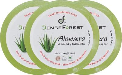 Dense Forest Aloevera Khadi Soap