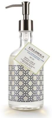 Caldrea Black Coriander Lime Glass Refillable Soap - Natural Bath Body USA 19460-CAL
