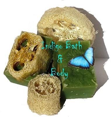 Indigo Bath and Body, LLC Foot Fetish - Peppermint Loofah Pedicure Soap