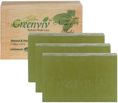 Greenviv Natural Neem & Tulsi Soap