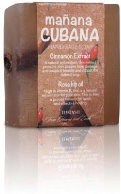 Nyassa Manana Cubana handmade moisturizing cinnamon Premium soap