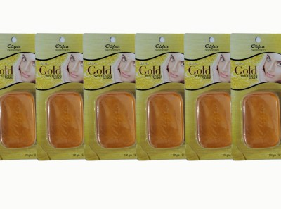 Olifair Ultra Gold Whitening Soap (Pack of 6)