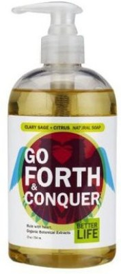 BETTER LIFE Go Forth & Conquer Soap - Clary Sage + Liquid