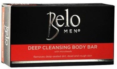 Belo Men Deep Cleansing Body Bar With Microbeads