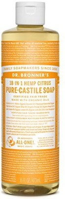 Dr. Bronner,s Organic Castile Liquid Soap Citrus Orange Magic Soaps