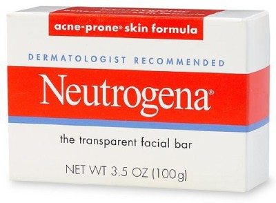Neutrogena Transparent Facial Bar Acne - Prone Skin Formula Soap